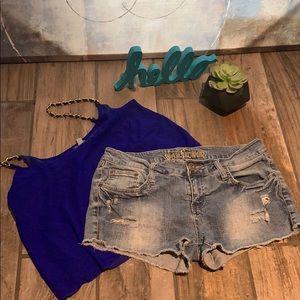 Pants - 🤩3/$25 Wallflower Jean shorts